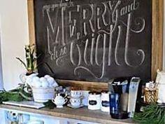 Idée Déco DIY : Un Tableau Noir Bistrot Dans ma Cuisine. Magnesium, Chalkboard Quotes, Art Quotes, Merry, Chalkboard, Kitchens