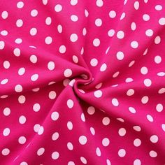 Sweatshirt Baumwollstoff angeraut Artikel Jogging  Punkte groß  Farbe Pink