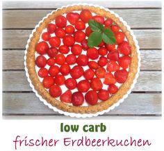 low carb Erdbeerkuchen / Erdbeerboden, glutenfrei So ein Erdbeerkuchen mit einemMandel-Tortenboden ist lecker und einfach gemacht.Mit den richtigen Zutatenist auch low carb kein Problem w…