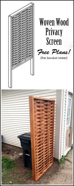Wooden Privacy Screens Come In All Sizes
