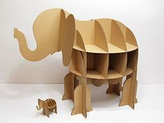 Bookshelf unique elephant super simple