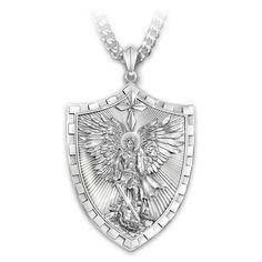 119642001 - Triumph Of St. Michael Pendant Necklace For Grand…