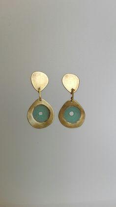 Pendientes Drop Earrings, Jewelry, Fashion, Ear Jewelry, Jewelery, Jewellery Making, Jewlery, Fashion Styles, Jewerly