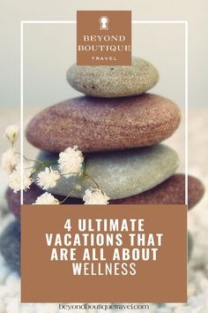 4 ultimate wellness travel vacations to change your life. Beyond Boutique clients love wellness vacations that transform you. Health benefits include weeks of an increase in job engagement, more energy and positivity; and a decrease in burnout. Nourish your best self with these getaways. You need a luxury vacation that includes wellness vacation destinations around the world! Click to read more. Follow @beyondboutiquetravel for the latest intel in luxury travel Vacation Destinations, Vacation Trips, Vacations, Travel Around The World, Around The Worlds, Love Wellness, Luxury Travel, Beautiful World, Health Benefits