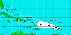 Armario de Noticias: Ruta del huracan Danny, segun reporte del Nuevo Di...
