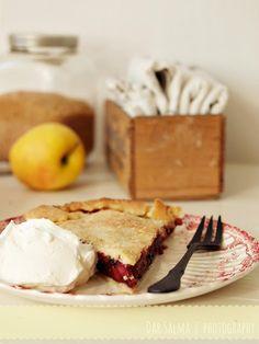 Apfel-Holunderbeeren-Pie