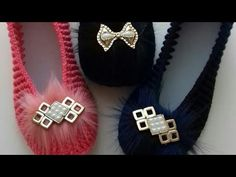 Crochet Shoes Pattern, Crotchet Patterns, Shoe Pattern, Baby Knitting Patterns, Crochet Sandals, Crochet Slippers, Knit Or Crochet, Girls Haircuts Medium, Shoe Recipe