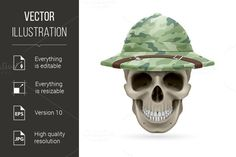 Hat skull. Clothes Icons. $5.00