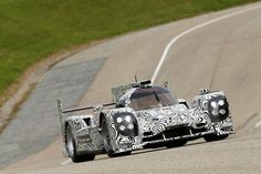 Porsche LMP1 rollout at Weissach