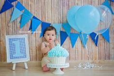 Sessão de Fotos Smash the Cake - 1 ano