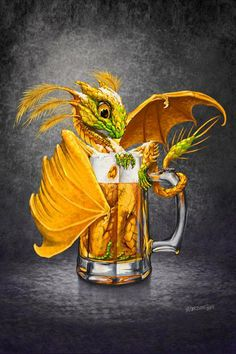 Beer Dragon by STANLEY MORRISON