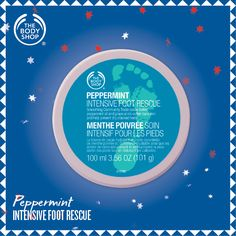Peppermint Intensive Foot Rescue - after hours and hours of Christmas shopping!