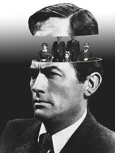 Une sélection des magnifiques collages de l'artiste français Matthieu Bourel, issus de ses séries Duplicity, Faces et Ubiquity, réalisés à partir de pho