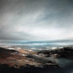Fallen 3 - Oil on Canvas - 101cm X 101cm - £995.00