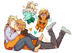 Kenny x Butters ~ cute boyfriends