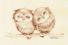 possible baby owls Baby Owl Tattoos, Cute Tattoos, Tatoos, Cute Baby Owl, Baby Owls, Baby Owl Pictures, Cute Owl Drawing, Owl Sketch, Owl Cartoon