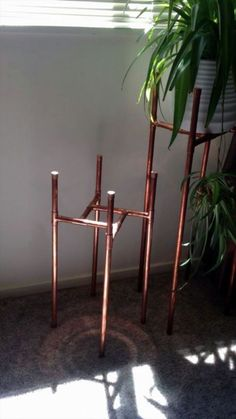 Today we are actually going to get to some really creative DIY PVC pipe projects. Today we are actually going to get to some really creative DIY PVC pipe projects knowing that apart from plumbing what else can you do with these PVC pipes? Pvc Pipe Projects, Diy Projects, Project Ideas, Garden Projects, Garden Crafts, Garden Ideas, Pallet Projects, Diy Plant Stand, Indoor Plant Stands