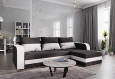 Colțar extensibil WELTA   Expedo.ro Sofa, Couch, Furniture, Home Decor, Settee, Settee, Couches, Interior Design, Sofas