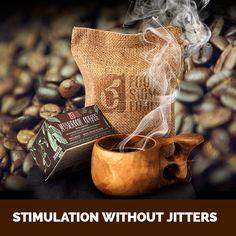Mushroom Coffee with Cordyceps   Four Sigma Foods - US