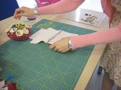 Living the crafts: Como hacer un neceser - YouTube