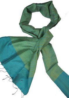 Sreyneang - Scarves from Cambodia - Handmade Silk Scarf from Cambodia (KRFS104), £39.90 (http://www.sreyneang.co.uk/handmade-silk-scarf-from-cambodia-krfs104/)