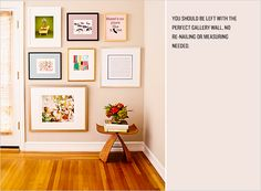 Hang the Perfect Gallery Wall | Rue