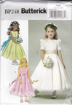Have your flower girl dressed like Kate Middleton's flower girls in this replica dress.