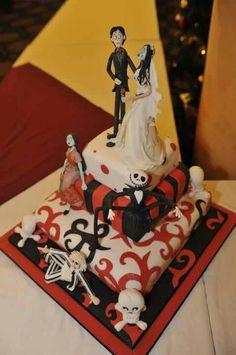 Tim Burton cake