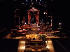 The Importance of Being Earnest Scenic design: Playmakers Repertory Chapel Hill North Carolina, my favorite theater for design