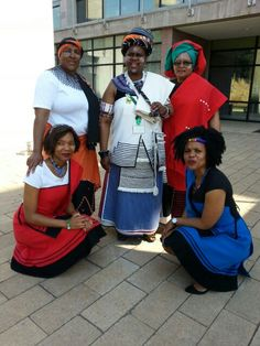 South Africa Heritage Day 2014 - Xhosa Xhosa Attire, South Africa, African, Celebs, Traditional, Roots, Queens, Pattern, How To Wear