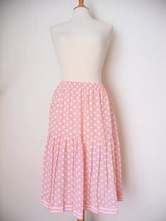 Vintage 1980's Leslie Fay polka dots & stripes by Rosesandruins - StyleSays