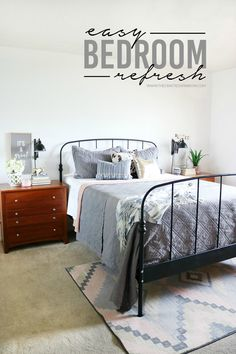 Easy Bedroom Refresh