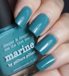 piCture pOlish Marine swatched by A Polish Addict!  So so beautiful!