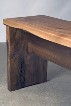 Walnut Bench. Bench SeatWood TableSlab ...