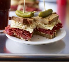 olive's ultimate NY deli sandwich recipe - Recipes - BBC Good Food