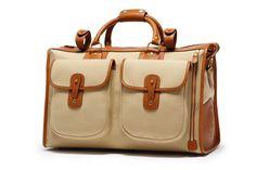 Men's Luggage | Express No. 2 in Khaki Twill | Ghurka