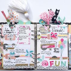 Almost forgot to post last week's spread! The fun, colorful details in the May Cute Planner, Planner Layout, Happy Planner, Planner Diy, Planner Dividers, Planner Organization, Printable Planner, Planner Stickers, Free Printables