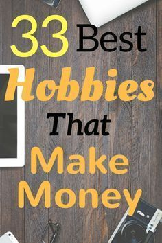 Check out this list of hobbies that make money! If you need to make extra money with a hobby, you need to check out this list!