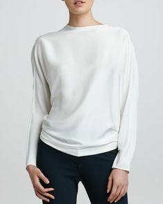 Discount Fashionable Buy Cheap Discounts Armani Collezioni Dolman Sleeve Top CXgEfhWj7E
