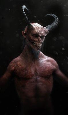 Evil, kevin demuynck on ArtStation at http://www.artstation.com/artwork/devil-2dd4941a-571f-4e8d-88d9-ff8593739ab4