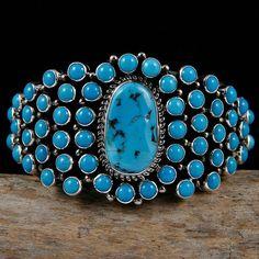 Kingman Turquoise Bracelet by TONYA JUNE RAFAEL
