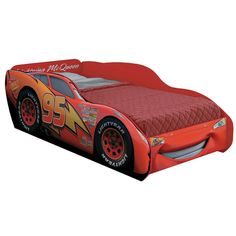 Lightning Mcqueen Bed, Kids Car Bed, Car Bedroom, Disney Stars, Baby Cribs, Kid Beds, Bed Design, Playroom, Kids Room