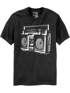 Men's Music Graphic Tees   Old Navy