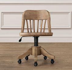Keating Desk Chair | Desk Chairs | Restoration Hardware Baby & Child