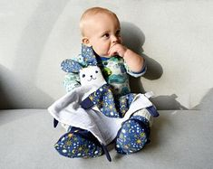 Modern baby kids and humorous grown ups accessories. by Zezling Baby Shower Gifts, Baby Gifts, Pram Toys, Bunny Nursery, Small Blankets, Teething Toys, Soft Dolls, Swaddle Blanket, Baby Room Decor