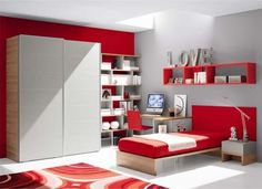 Decoration and layout for the teen bedroom