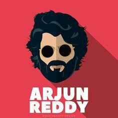 Arjun reddy - Flat Design on Behance