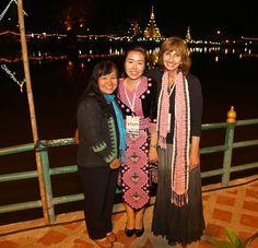 Friends in Mae Hong Son, Thailand At Small World Festival Dec 2013