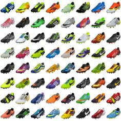 Some of the most popular #soccer #cleats of 2013. Which was your favorite?