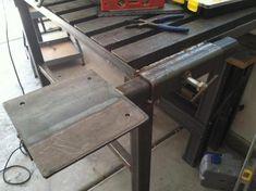 Another folding table - Welding Projects Welding Bench, Welding Cart, Welding Shop, Welding Jobs, Diy Welding, Metal Projects, Welding Projects, Welding Ideas, Diy Projects
